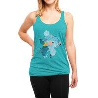 Calm - womens-triblend-racerback-tank - small view