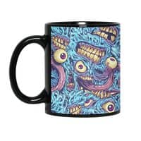Eyeballs and Teeth - black-mug - small view