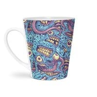 Eyeballs and Teeth - latte-mug - small view