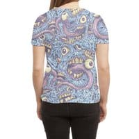 Eyeballs and Teeth - womens-sublimated-triblend-tee - small view