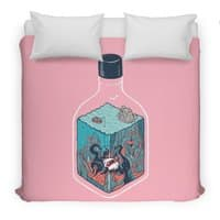 deep down at the bottom of the bottle - duvet-cover - small view