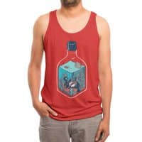 deep down at the bottom of the bottle - mens-triblend-tank - small view