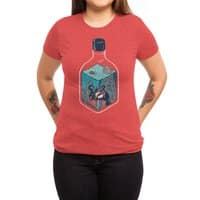deep down at the bottom of the bottle - womens-triblend-tee - small view