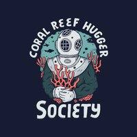 Coral Reef Hugger Society - small view