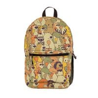 Herbivores In Carnivores - backpack - small view