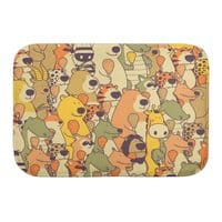 Herbivores In Carnivores - bath-mat - small view