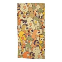 Herbivores In Carnivores - beach-towel - small view