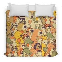 Herbivores In Carnivores - duvet-cover - small view