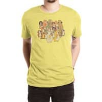 Herbivores In Carnivores - mens-extra-soft-tee - small view