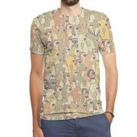 Herbivores In Carnivores - mens-sublimated-triblend-tee - small view