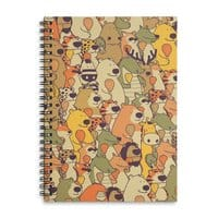 Herbivores In Carnivores - spiral-notebook - small view