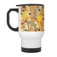Herbivores In Carnivores - travel-mug-with-handle - small view