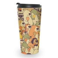Herbivores In Carnivores - travel-mug - small view