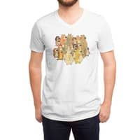 Herbivores In Carnivores - vneck - small view