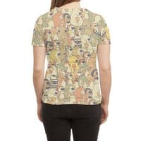 Herbivores In Carnivores - womens-sublimated-triblend-tee - small view