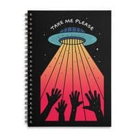 Take Me Please - spiral-notebook - small view