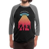Take Me Please - triblend-34-sleeve-raglan-tee - small view