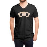 Angry Eyes - vneck - small view