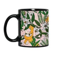Orange oil - black-mug - small view