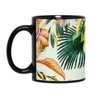 Exotic jungle bouquet 02 - black-mug - small view