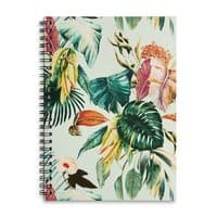 Exotic jungle bouquet 02 - spiral-notebook - small view