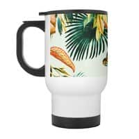 Exotic jungle bouquet 02 - travel-mug-with-handle - small view