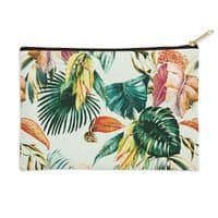 Exotic jungle bouquet 02 - zip-pouch - small view