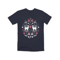 Scandinavian Deer - mens-premium-tee - small view