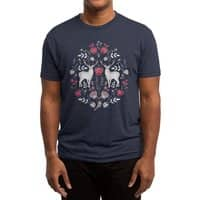 Scandinavian Deer - mens-triblend-tee - small view