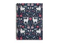 Scandinavian Deer - spiral-notebook - small view