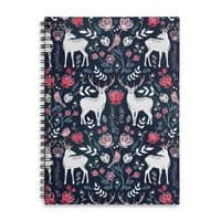 Scandinavian Deer - spiral-notebook - small view
