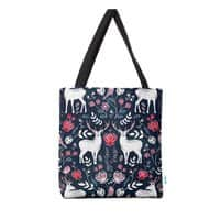Scandinavian Deer - tote-bag - small view