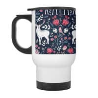 Scandinavian Deer - travel-mug-with-handle - small view