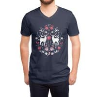 Scandinavian Deer - vneck - small view