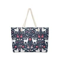 Scandinavian Deer - weekender-tote - small view