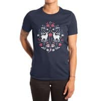 Scandinavian Deer - womens-extra-soft-tee - small view