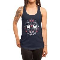 Scandinavian Deer - womens-racerback-tank - small view