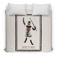 Tis But A Scratch - duvet-cover - small view