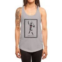 Tis But A Scratch - womens-racerback-tank - small view
