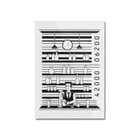 Bar Code - vertical-mounted-acrylic-print - small view