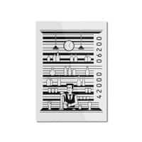 Bar Code - vertical-mounted-aluminum-print - small view