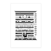 Bar Code - vertical-print - small view