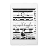 Bar Code - vertical-stretched-canvas - small view