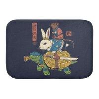 Kame, Usagi and Ratto Ninjas - bath-mat - small view