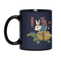 Kame, Usagi and Ratto Ninjas - black-mug - small view