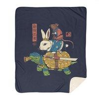 Kame, Usagi and Ratto Ninjas - blanket - small view