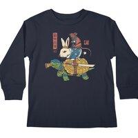 Kame, Usagi and Ratto Ninjas - longsleeve - small view