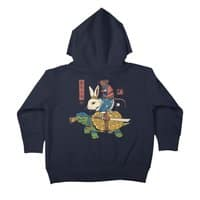 Kame, Usagi and Ratto Ninjas - toddler-zip-up-hoody - small view