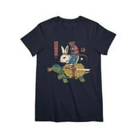 Kame, Usagi and Ratto Ninjas - womens-premium-tee - small view