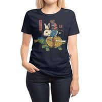 Kame, Usagi and Ratto Ninjas - womens-regular-tee - small view